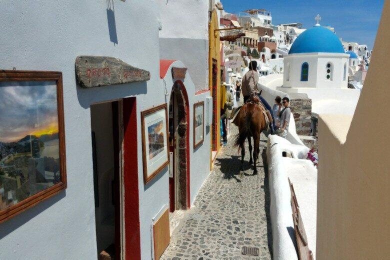 Santorini_donkey